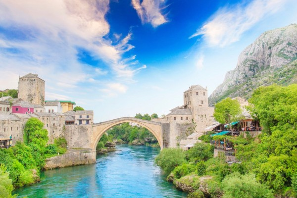 How to get from Split to Mostar