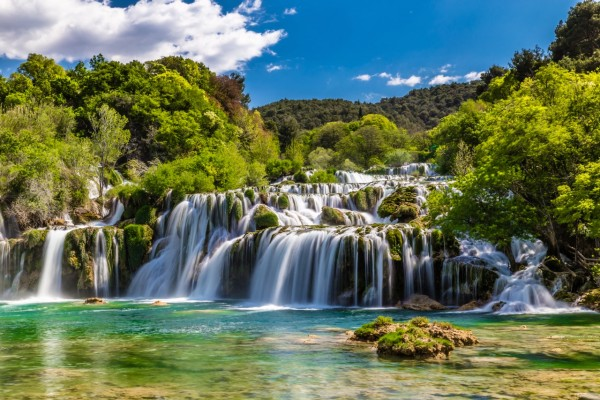 Zadar to Krka Waterfalls Private Day Trip